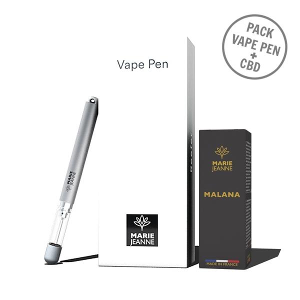 Pack - Vape Pen + CBD Malana 300mg - Marie Jeanne