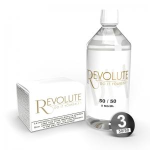 Base - 50PG/50VG - 3mg - 1L - Revolute