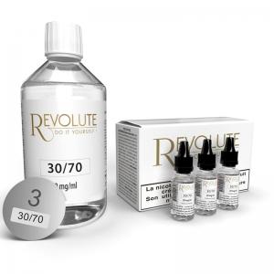 Base - 30PG/70VG - 3mg - 200ML - Revolute